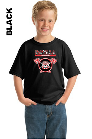 Batala Black Tee Youth