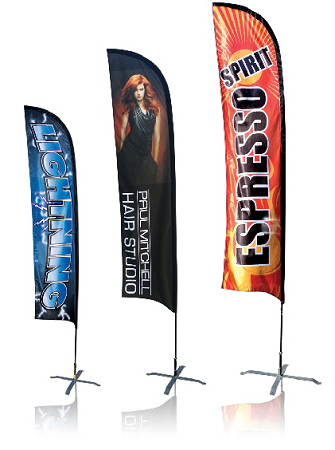 Feather Banner 8Ft Double Sided