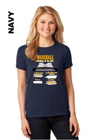 Marshall Reading Tee Womens