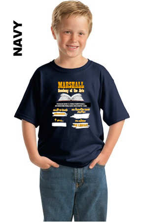 Marshall Reading Tee Youth