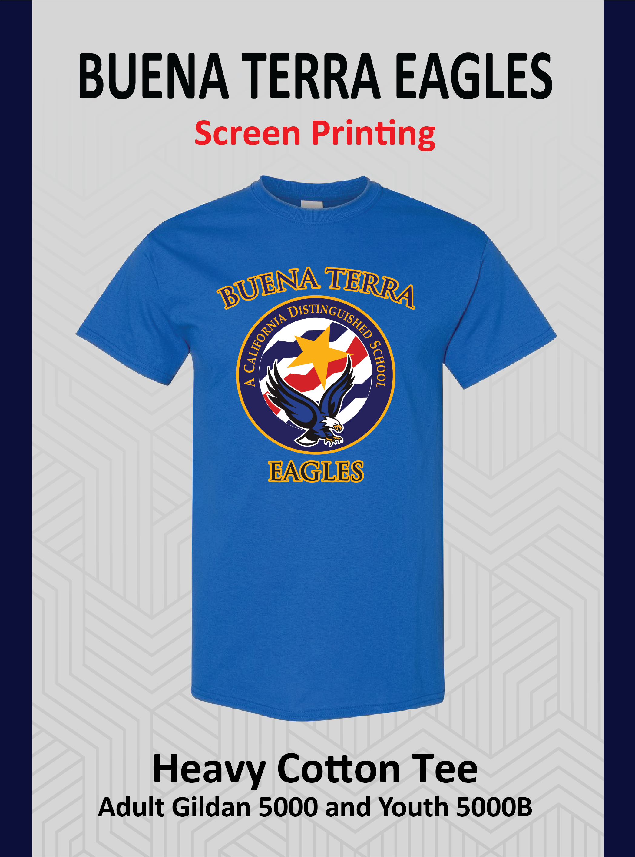 Buena Terra Royal Tee (Screen Printing)