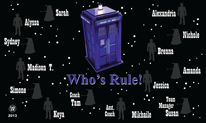 B1046 Doctor Who 3x5 Banner