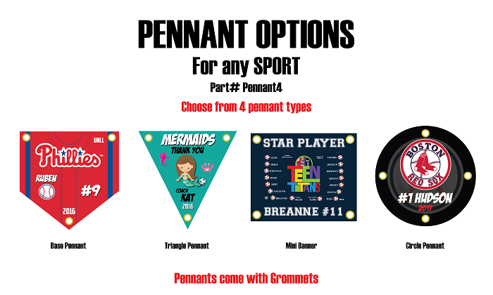 4 Types of Pennants