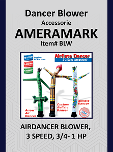 Air Dancer Blower 3 Speed 3/4 -1 HP