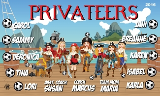 B2011 Privateers 3x5 Banner