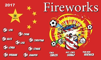 B2244 China Fireworks 3x5 Banner