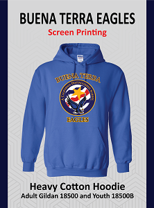 Buena Terra Royal Hoodie (Screen Printing)