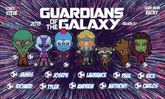 B2624 Guardians of the Galaxy