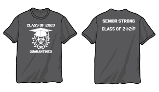 Graduation Quarantine Senior Strong Tee