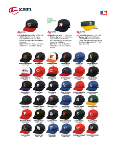 Majestic MLB350 Baseball caps