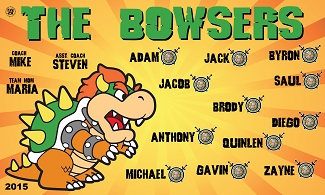 B1604 The Bowsers Dragons 3x5 Banner