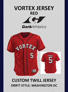 Vortex Garb Red Jersey