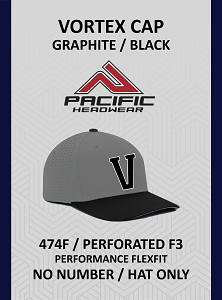 Vortex 474F Cap Graphite Black (No Number)