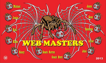 B1617 Web Masters 3x5 Banner