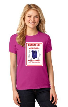 Fan Zone Womens Tee