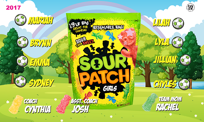 B2022 Sour Patch Girls 3x5 Banner