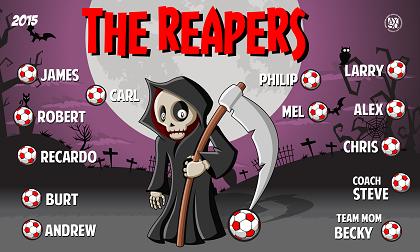 B1628 The Reapers 3x5 Banner