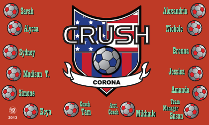 B1042 Crush USA 3x5 Banner